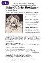 John Gabriel Borkman Program