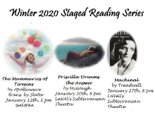 Winter Staged Readings Graphic