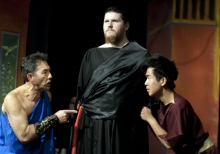 A Hot Day in ephesus Production Photos