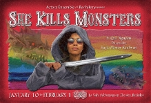She Kills Monsters Postcard