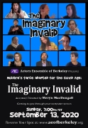 The Imaginary Invalid - Small Poster