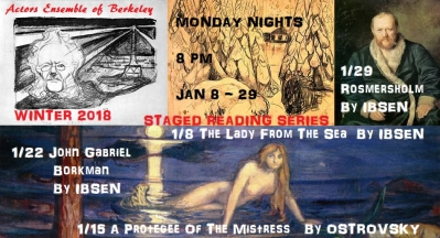 2018 Winter Staged Readings